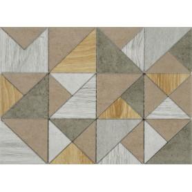 Декор Wood «Калейдо» 35x25 см, 2 шт.