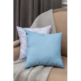 Подушка декоративная «Радуга» 40х40 см цвет голубой