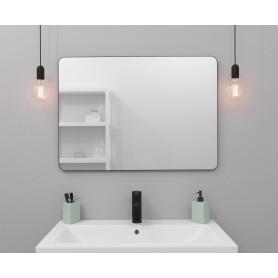 Зеркало Ferro 50х70 см цвет чёрный