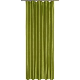 Штора на ленте «Taffy Apple 4», 140х260 см, однотон, цвет зелёный