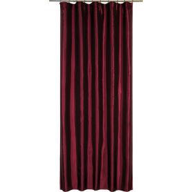 Штора на ленте «Taffy Cabaret 2», 140х260 см, однотон, цвет красный