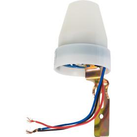 Фотореле Duwi FR-02 10 A, 2200 Вт, цвет белый, IP44