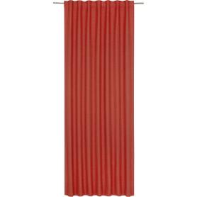 Штора на ленте Lidia Cocktail, 140х280 см, однотонный, цвет терракота