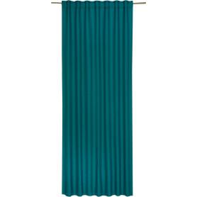 Штора на ленте Lidia Miami, 140х280 см, однотонный, цвет бирюзовый