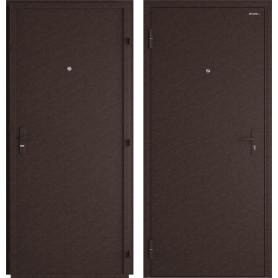 Дверь входная металлическая Лидер, 960 мм, левая, цвет античная медь