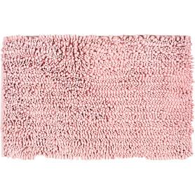 Коврик для ванной комнаты Molle 50х80 см цвет розовый