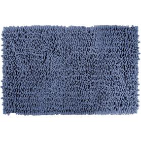 Коврик для ванной комнаты Molle 50х80 см цвет серый/голубой