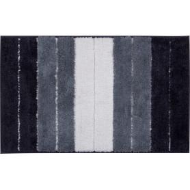 Коврик для ванной комнаты Heide 50х80 см цвет белый/чёрный