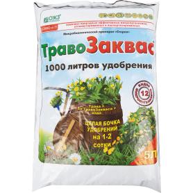 Препарат микробиологический «Травозаквас», 5 л