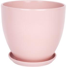 Горшок цветочный Джеральдина ø18 h16.5 см v2.6 л керамика розовый