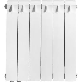 Радиатор Rifar Monolit, 6 секций, нижнее левое подключение, 500 мм, биметалл