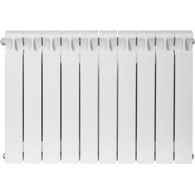 Радиатор Rifar Monolit, 10 секций, нижнее левое подключение, 500 мм, биметалл