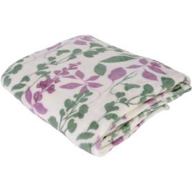 Плед «Lilac», 180х200 см, фланель, цвет розовый