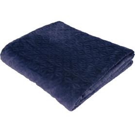 Плед «Granada», 200х220 см, микрофибра, цвет синий