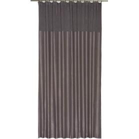 Штора на ленте «Эльза», 200х320 см, цвет серый