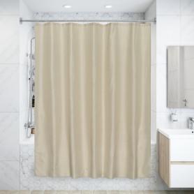 Штора для ванной Caramel, 180x180 см, полиэстер, цвет бежевый
