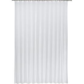 Тюль на ленте «Лён», 400х300 см, цвет белый