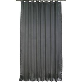 Штора на ленте, 200х300 см, жаккард, цвет серый