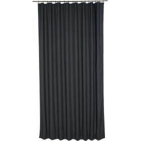 Штора на ленте «Лён», 200х300 см, цвет серый