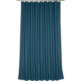 Штора на ленте «Лён», 200х300 см, цвет синий