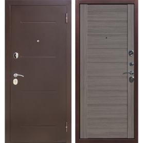 Дверь входная металлическая Ницца, 960 мм, правая, цвет грей царга