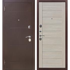 Дверь входная металлическая Ницца, 860 мм, левая, цвет ларче