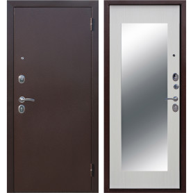 Дверь входная металлическая Царское зеркало Maxi, 860 мм, правая, цвет белый ясень