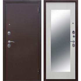 Дверь входная металлическая Царское зеркало Maxi, 960 мм, правая, цвет белый ясень