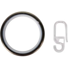 Кольцо, сталь, цвет золото антик, 2.8 см, 10 шт.