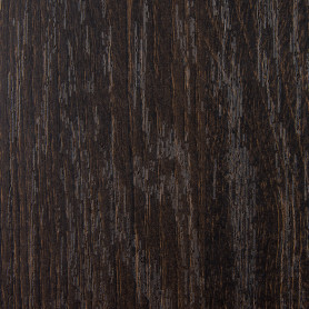 Деталь мебельная 600x300x16 мм ЛДСП, дуб термо тёмный, кромка со всех сторон