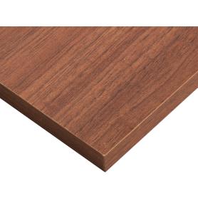 Деталь мебельная 1200x400x16 мм ЛДСП, орех антик, кромка со всех сторон
