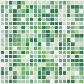 Панель ПВХ листовая 0.3 мм 960х480 мм Весна мозаика 0.46 м²