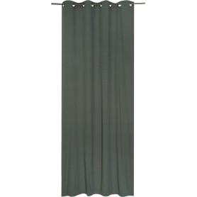 Штора с люверсами Jeanne Desert Sage, 135х280 см, однотонный, цвет зелёный