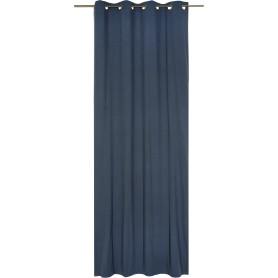 Штора на люверсах Jeanne Ink, 135х280 см, цвет синий