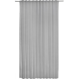 Тюль на ленте «Abby Granit», 300х280 см, однотон, цвет серый
