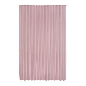 Тюль на ленте «Abby Kiss», 300х280 см, однотон, цвет розовый