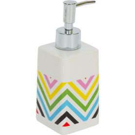Диспенсер для жидкого мыла Twist, керамика, цвет мультиколор