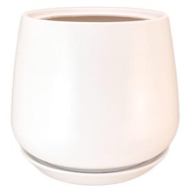 Горшок цветочный Gonchar Скарлет ø19 h22 см v5.5 л керамика белый