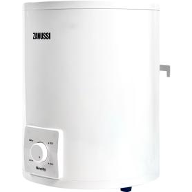 Электроводонагреватель накопительный Zanussi ZWH/S 10 Novelty O над мойкой, 10 л, нержавеющая сталь