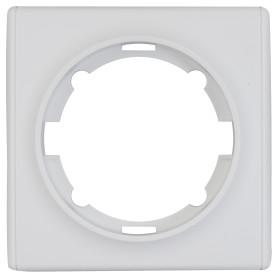 Рамка для розеток и выключателей Onekey Florence 1 пост, цвет белый