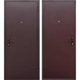 Дверь входная металлическая Стройгост 5, 860 мм, правая, цвет металл