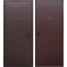 Дверь входная металлическая Стройгост 5, 960 мм, левая, цвет металл