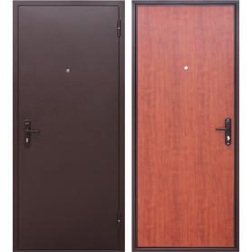 Дверь входная металлическая Стройгост 5, 860 мм, правая, цвет рустикальный дуб