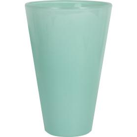 Кашпо цветочное «Кашпо стекло», D14, 1, 3л. стекло, Зеленый