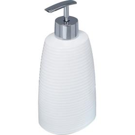 Дозатор для жидкого мыла Lilyum, цвет белый