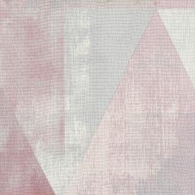 Обои «Пирамида» RA 410938, на флизелиновой основе, цвет розовый, 0.53х10.05 м