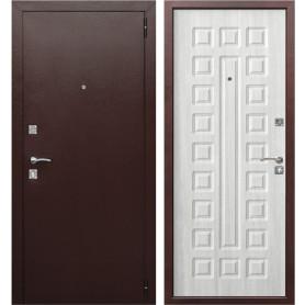 Дверь входная металлическая Йошкар, 860 мм, правая, цвет белый ясень