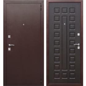 Дверь входная металлическая Йошкар РФ, 960 мм, правая, цвет венге