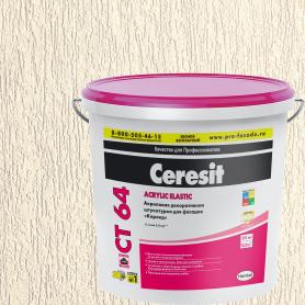 Штукатурка декоративная Ceresit CT64 короед 1.5-2.0 мм 25 кг