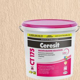 Декоративная штукатурка Ceresit CT175 в цвете Colorado 1 короед 2.0 мм 25 кг
